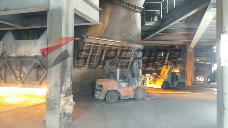 Micro silica fume factory equipment