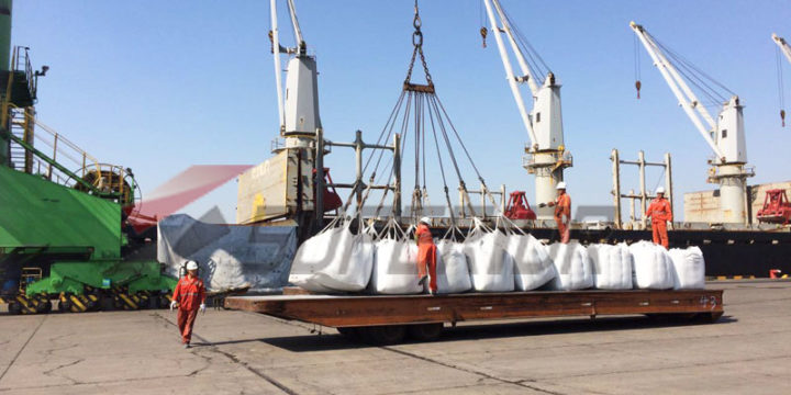 A batch of ASTM C1240 silica fume delivered to Indonesia