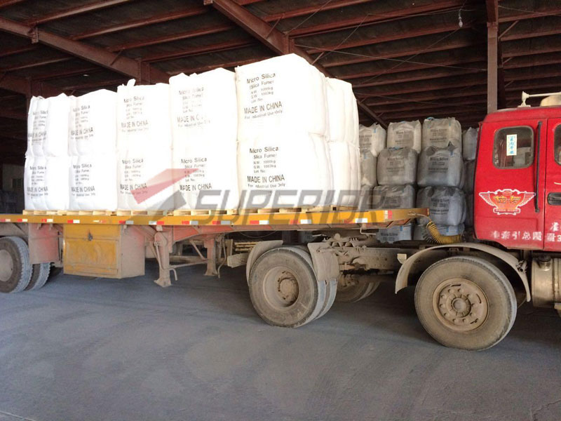 Henan Superior Abrasives 5000t Silica Fume shipped to Vietnam