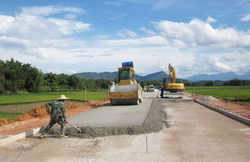 Silica Fume Powder Used in Concrete Road Construction
