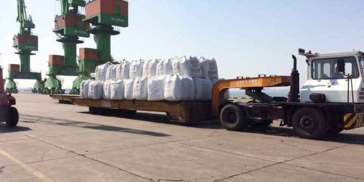 7000t CSA standard silica fume grade 92 were delivered to Canada