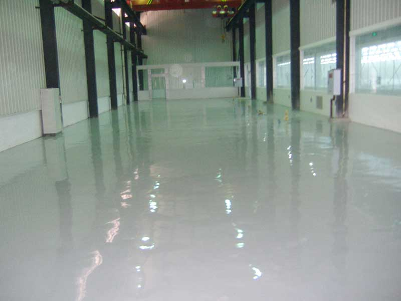 metal wear-resistant floor
