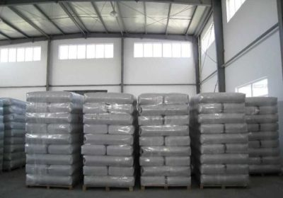 20MT 20kg water-soluble bag packed 95% undensified Silica Fumes shipping to Manila