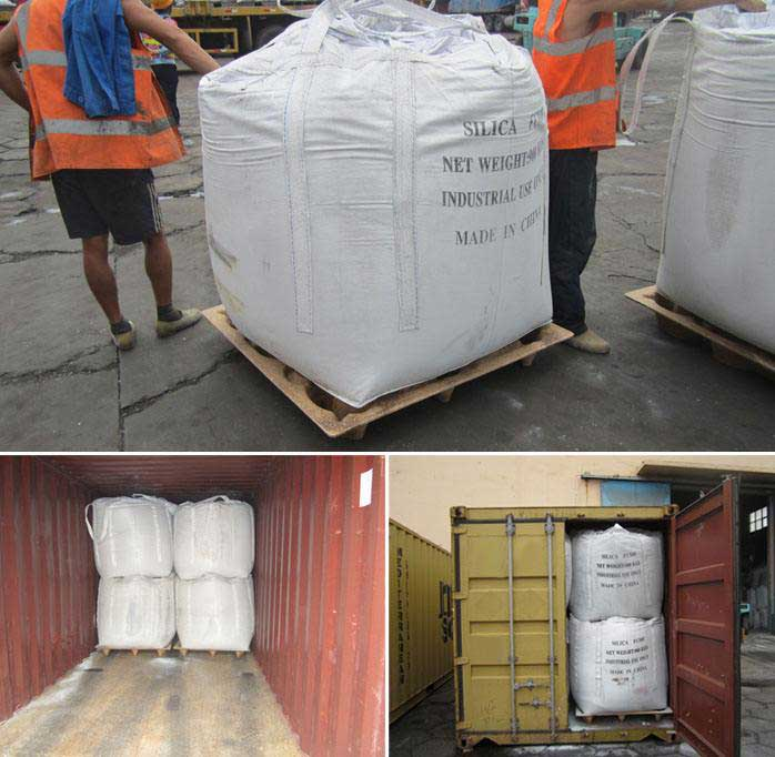 Densified Microsilica 85% shipped to Belgium