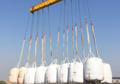 6 20ft-Containers 92 Semi Densified Silica Fume Sent to the Middle East Through Tianjin Port